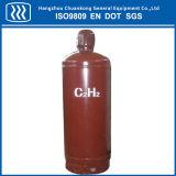 Cilindro de gás industrial do aço inoxidável