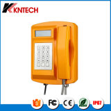 Напольный водоустойчивый непредвиденный телефон для Kntech используемого тоннелем Knsp-18