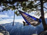 Portátil de viaje Paracaídas acampa Hamaca