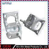 L'alluminio di CNC parte la lamiera sottile elettrica nichelata di precisione che timbra le parti