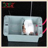 Het witte Grijze Thermische Vet van het Silicone voor cpu en Heatsink