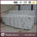 Azulejo de mármol blanco barato de Guangxi para el piso y la pared