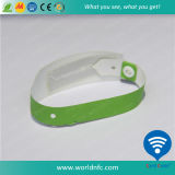 PVC 915MHz Alien H3 Disposable Wristband di RFID Paper