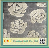 Выполненное на заказ Chenille Fabric Polyester Fabric Flocking Fabric для Sofa Upholstery