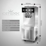 Machine de yaourt surgelé avec le double système de commande