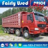 Sinotruck HOWO 8 x 4 덤프 트럭 371HP