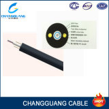 Cable óptico del tubo GYXY 12 del solo modo de la fibra floja de la base