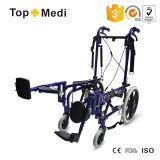Fauteuil roulant étendu de Cp de paralysie cérébrale de produit médical en aluminium de Topmedi