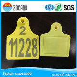 Passives RFID Animal Ear Tag für Sheep/Cow/Horse