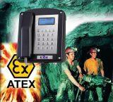 Téléphone industriel Knex-1 de mine de houille de téléphone anti-déflagrant