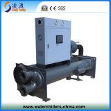 Refrigeratore di acqua raffreddato ad acqua a vite (LT-75DW)