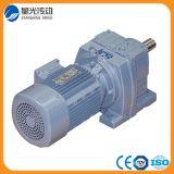 Motor con engranajes helicoidal para la industria del tratamiento de aguas residuales