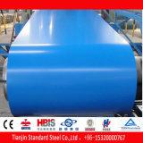 Chapa de aço Prepainted azul Azure PPGI de Ral 5009