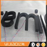 省エネLEDのステンレス鋼の背部Litの文字の印