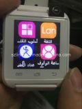 싼 지능적인 시계 Bluetooth 4.0 지원 전화 음악 플레이어 보수계