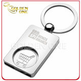 Personifiziertes Trolley Coin Key Chain für Shopping Trolley Cart