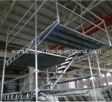 Échafaudage de construction certifié par ce sûr pour la construction