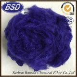 Fibra di graffetta di poliestere colorata PSF per i filati di filatura