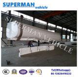 Hete Verkoop 3 Olietanker van de Aanhangwagen van de Vrachtwagen van de Tanker van de Brandstof van de As de Semi