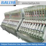 Equipo automático de la asamblea del filtro de la hemodialisis del dializador de llavero de la fábrica