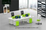 高品質の二重側面の鋼鉄足のオフィスワークステーション事務机