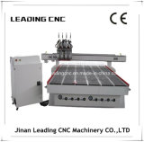 Multi CNC Cutting Machine de Wood do router do CNC de Spindle 3D