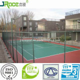 Buona superficie di sport della corte di tennis di resistenza alle intemperie