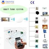 Interruptor inteligente casero elegante vendedor superior de la automatización casera de Zigbee y de WiFi, interruptor ligero teledirigido