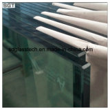 3mm-19mm Low Iron Toughened Safety Glass pour Glass Fencing