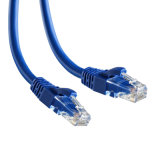 Snagless UTP CAT6 Patch Cord Cable com conectores RJ45 embutidos