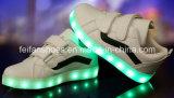 Проблесковый свет СИД детей самый последний обувает Sub вставляемые светящие ботинки СИД (FF326-3)