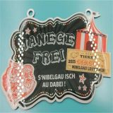 De Medaille van de Druk van de Compensatie van het Metaal van de Sport van de douane voor de Gift van Kinderen (md-03)
