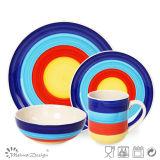 Venda Por Atacado New Design Cheap Prices China Ceramic Dinner Sets