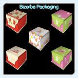 Роскошная коробка подарка бумаги картона