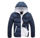 2016 Met een kap Wholsale Van uitstekende kwaliteit met het Jasje van de Winter van de Mensen van de Ritssluiting