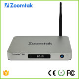 Поддержка Airplay Zoomtak T8h коробки Kodi 16.1 4k франтовская TV Android 5.1