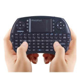 Ipazzport Wireless Keyboard 2.4G LED Backlit Keyboard com Touchpad