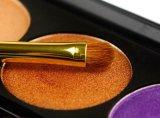 El mejor cepillo de la sombra de ojo del pelo del potro de la calidad del cepillo de encargo de la insignia