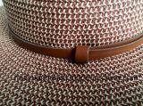 El 90% 10%Polyester de papel con los sombreros del safari de la decoración de la correa