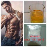 Порошок Anavar 99% устно стероидный для потери веса CAS: 53-39-4