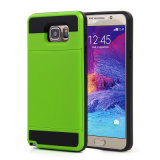 Antichoc Hybrid Silicone Outdoor Defender pour l'iPhone 4 5 6 Plus Colorful Cas