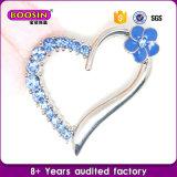Tegenhanger van het Hart van het Kristal van de Douane van de Verkoop van de fabriek de Hete Buitensporige voor Halsband