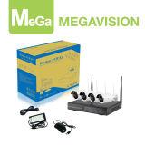 Enchufe de HD 4 CH y kit de WiFi NVR del juego (MG-NVK-6404A-4EXW)