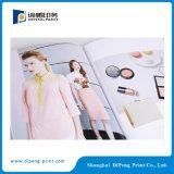 印刷の女性の布カタログ