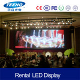 Pantalla de visualización de interior de LED de P3 1/16s para la etapa
