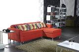 Base di sofà d'angolo del tessuto con lo schienale di Djustable e la memoria (K068)