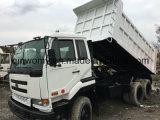 Gebruikt nieuw-vrij-schilder de Japan-Originele 13ton Vrachtwagen van de Stortplaats van de hand-Transformatie 6*4-LHD-Drive Nissan Ud opnieuw