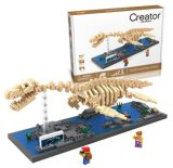 6739027-ABS Plesiosaur Baustein-Spielzeug für die Vergrößerung von Sozialmitarbeit-Fähigkeit
