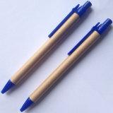 Stylo promotionnel de papier bon marché d'Eco de stylo de petite quantité de stylo (E1001)