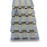 Escalera de aluminio que olfatea para el borde de la pisada